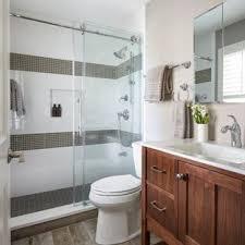 Transitional bathroom ideas Bath Bathroom Small Transitional Master White Tile And Ceramic Tile Porcelain Floor And Brown Floor Bathroom Houzz 75 Most Popular Small Transitional Bathroom Design Ideas For 2019