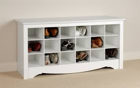 interior: Modern Style Of Cheap Shor Storage From Ikea Made Of Wooden  Material In White