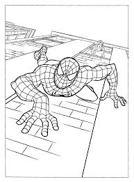 Why not urge your clever young learner to create their own adventures in spiderman comic? Free Printable Spiderman Coloring Pages For Kids