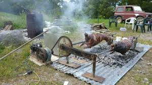 Homemade Spit Roast Design Nz Hunting And Shooting Forums