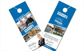Door Hanger Design Template Amazing Impressive Door Hanger Design Real Estate With Real Estate Door