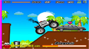 cool math games police monster truck you