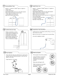 How To Hook Up A Water Softener Davey 2060s Od Kinetico Domestic Water Softener User Manual Page