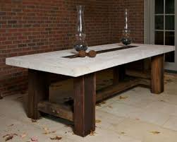 faux stone top dining table. fresh design stone top outdoor dining table very attractive faux .