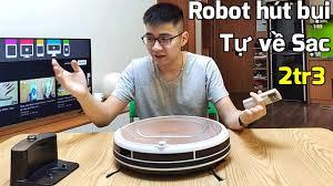 Robot hút bụi Ecovacs CEN540 giá 2tr3 Shopee : Tự về sạc, có cảm biến va  chạm - YouTube