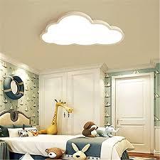 Nachttischlampen, deckenlampen oder wandlampen können die stimmung für dein gesamtes schlafzimmer setzen, also ist die wahl der richtigen art von die beste romantische schlafzimmerlampe für dich hängt von deinen vorlieben ab. Deckenleuchte Led Ultradunne 5 Cm Kreative Wolken Deckenlampe Kinderzimmer Deckenleuchte Jungen Und Madchen Schlafzimmer Lampe Einfache Cartoon Romantische Deckenlampe Color Stufenloses Dimmen Sidra Hospital