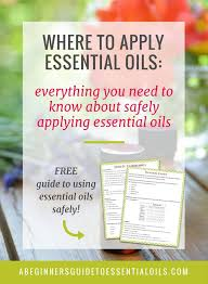 Where To Apply Essential Oils Everything You Need To Know