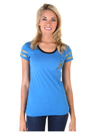 star trek starfleet blue juniors costume t shirt