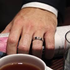 gay wedding bands for men. de beers talisman you \u0026 me ring gay wedding bands for men 1