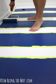 you can paint vinyl laminate floors come see how