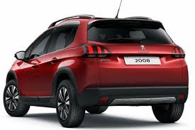2018 peugeot. contemporary 2018 2018 peugeot 2008  rear with peugeot