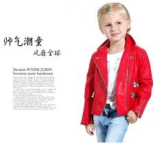 child faux leather jacket faux leather boys girls coat style motorcycle children spring autumn jacket brand child faux leather jacket