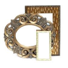 Mirror grouping on wall Gold Framed Decorative Wall Mirror Grouping Ebthcom Decorative Wall Mirror Grouping Ebth