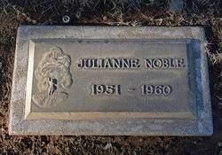 Julianne Noble (1951-1960) - Find A Grave Memorial