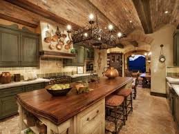 Rustic Italian Kitchen Design