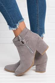 Light Grey Boots Womens Pin On Shoes