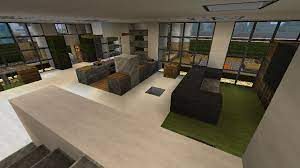 interior modern house ideas minecraft