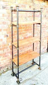 diy pipe shelves freestanding free standing pipe shelves inspirational 7 you inside remodel how to diy pipe shelves freestanding cost