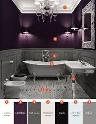 Dark Color Bathroom Designs 20 Relaxing Bathroom Color Schemes Shutterfly