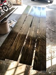 diy countertops using wood planks
