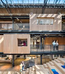 dublin office. Airbnb Dublin Office Interiorhas Revealed Its New Headquarters In Dublin, Which Mark The First Time Company Has Been Able To Determine Architectural