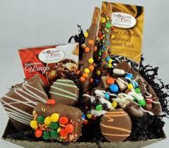 gourmet chocolate gift baskets