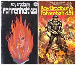 7 decades of fahrenheit 451 book covers strawberry