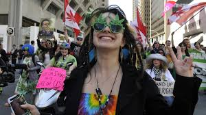 Marijuana protesters