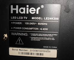 haier 22 inch led tv. haier led tv repairing 22 inch