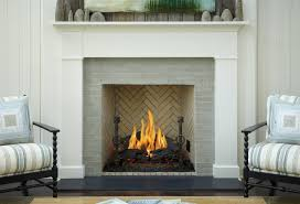 fireplace surround that feels clean classic and warm all at the same time