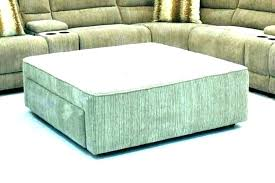 big square ottoman leather with tray storage coffee table large extra tufted round s long brown