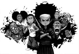 Our black asses lyrics from boondocks