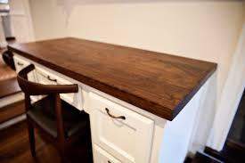 Counter Top Desks Walnut Kitchen Island Counters In West University Texas Handymen