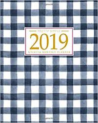 Monthly Calendar Schedule 2019 Planner Weekly And Monthly Calendar Schedule Organizer