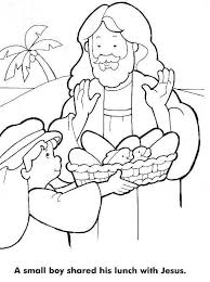 Small Picture Loaves And Fishes Coloring Page Kids church Pinterest Fish