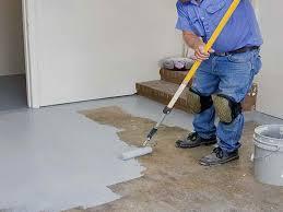 image of diy basement floor paint