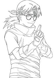 Naruto Coloring Sheets Best Images About Coloring Pages On For