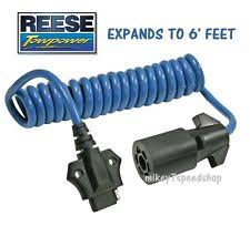jeep wrangler trailer wiring harness reese 7 way to 4 way flat adapter trailer wiring harness towing wire connector