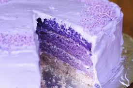Purple Birthday Cake Recipe Makebetterfoodcom