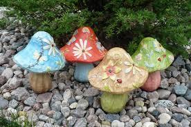 stylish garden mushroom decor d24390425d299d8e074839db1aca7b28 mushroom yard decor