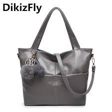 <b>DikizFly Women Bag</b> Pu Leather Tote Brand Name <b>Bag</b> Ladies ...