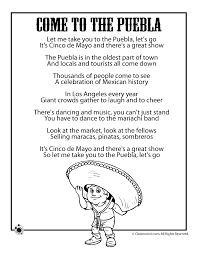 Cinco de mayo crafts and other activities for young children. Cinco De Mayo Kids Poems Coloring Pages Woo Jr Kids Activities