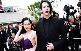 """This does not correspond to our seven years together"""": Dita Von Teese flies  to the rescue of Marilyn Manson"""