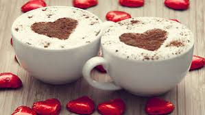 coffee cups with coffee love. Contemporary Coffee Image Is Loading Poster24034x16034TwoCups Inside Coffee Cups With Love C
