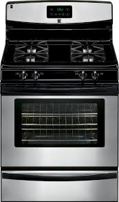 kenmore gas stove. kenmore 73233 4.2 cu. ft. gas range w/ broil \u0026 serve™ drawer - stainless steel stove m