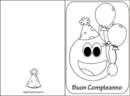 Biglietti Auguri Compleanno Bambini Da Stampare Lacurt