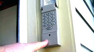 garage door keypad installation how to install a craftsman garage door opener garage door keypad installation