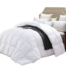details about wenersi white down comforter full queen size duvet insert 600tc 100 cotton