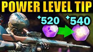 Destiny 2 Big Power Leveling Tip Get To 600 Power Faster Forsaken