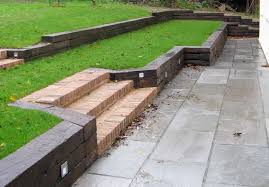 Small Picture Timber Sleeper Retaining Wall Design Style Timber Sleeper